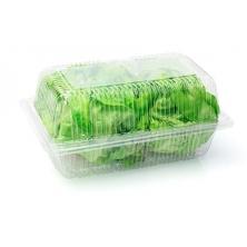 Пластиковые контейнера и тарелки