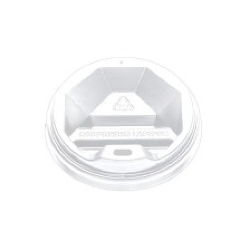 Крышка белая КВ - 69 для стакана 175 мл