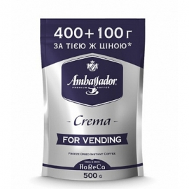 Кофе растворимый Ambassador Espresso Crema 500 г