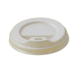 Крышка белая КВ - 88 для стакана 400 мл