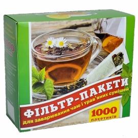 Фильтр пакет для чая L 1000 шт