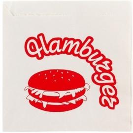 Пакет - уголок белый для Гамбургера 150х125 мм  500 шт