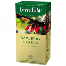 Чай Greenfield Barberry Garden 25 пакетов
