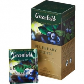Чай Greenfield Blueberry nights 25 пакетов