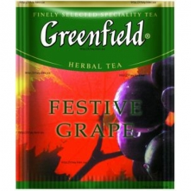 Чай Greenfield Festive Grape 100 пакетов