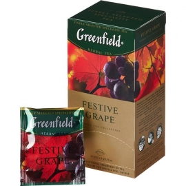 Чай Greenfield Festive Grape 25 пакетов