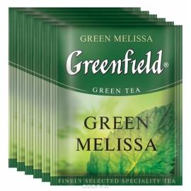 Чай Greenfield Green Melissa 100 пакетов