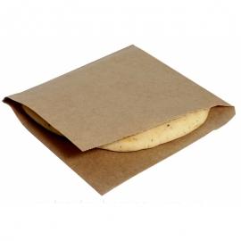 Пакет - уголок бумажный крафт 170х170 мм  100 шт