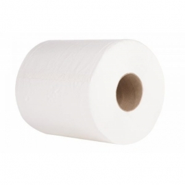Полотенца бумажные двухслойные на гильзе Primier 220х220 мм
