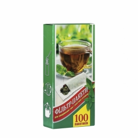 Фильтр пакет для чая L 100 шт