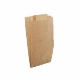 Пакет бумажный бурый 230х110х40 мм  100 шт