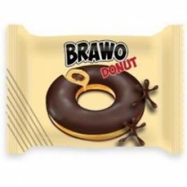 Кекс Brawo Donut с какао начинкой в глазури 50 гр