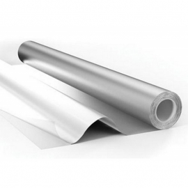 Фольга пищевая алюминиевая Эконом 10 мкм 100 м х 28 см