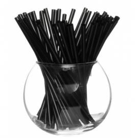 Трубочка для мартини черная 200 шт