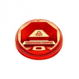 Крышка красная КР-69 для стакана 175 мл