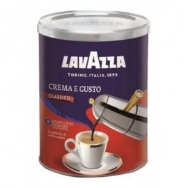 Кофе молотый Lavazza Crema e Gusto Classico ж/б 250 г
