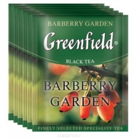 Чай Greenfield Barberry Garden 100 пакетов