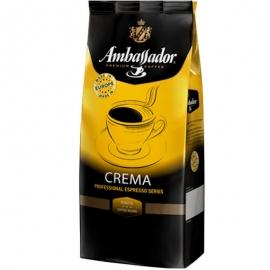 Кофе в зернах Ambassador Crema (Польша) 1 кг