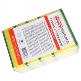 Губка для посуды PRO Optimum 9х6 см  5 шт