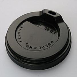 Крышка коричневая КР-76 для стакана 250 мл