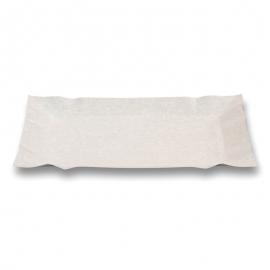 Тарелка бумажная прямоугольная 100 шт