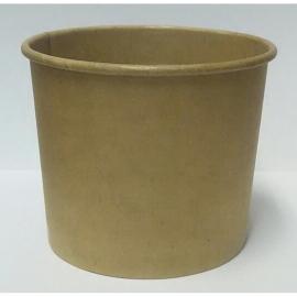 Креманка бумажная крафт для мороженного 286 мл